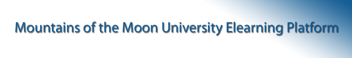 Mountains of the Moon University E-Learning System